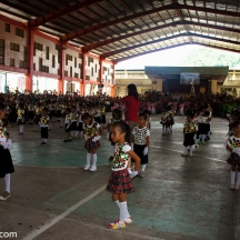 The gradeschoolers dance competition