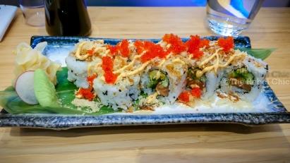 Crispy Laks (Salmon) Maki 10 pcs.