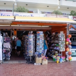 One of the shops by the beach.