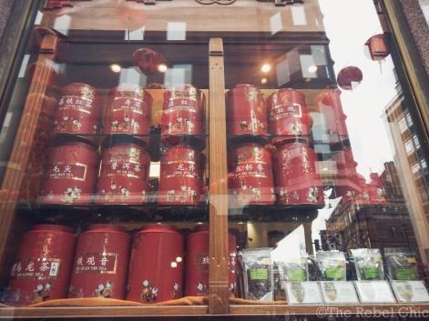 Huge tea cannisters!